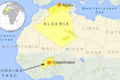 An Air Algerie flight carrying 116 people has vanished while en route from Burkina Faso to Algeria. A French government official and the plane's Spanish owner says contact was lost with the aircraft over northern Mali.