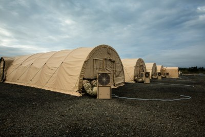 First Look at a New Hospital for Ebola Aid Workers: 10 Photos You've Never Seen