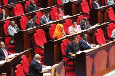 Tanzanian MPs demand on the Independent Power Tanzania Limited debate.