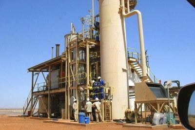 (Photo d'archives) - Les industries minières d'Afrique Centrale et Occidentale sont en conclave à Accra, la capitale du Ghana
