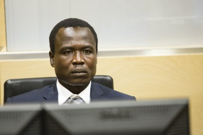 Dominic Ongwen at his first appearance hearing at the International Criminal Court in The Hague. (file photo).