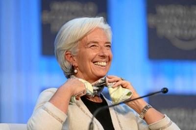 Christine Lagarde - Directrice générale du Fonds monétaire international (FMI)