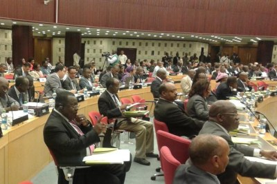 Committee of experts meeting gets underway at the UNECA 8th annual conference.