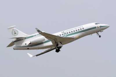 Nigerian Air Force Dassault Falcon 7X.