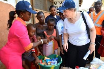 Helen Clark appelle à l'action pour confronter les défis de la période post-ébola.