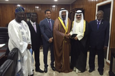 The Loan Agreement was signed by His Excellency Mr. Komi KOUTCHE, Minister of Economy and Finance of the Republic of Benin, and Mr. Hamad S. Al-Omar, Deputy Director-General of Kuwait Fund for Arab Economic Development.