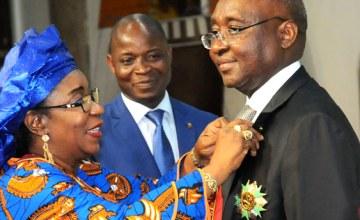 President Kaberuka Receives Benin's Highest Honours