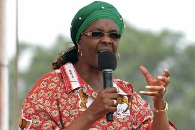 Former ZImbabwe First Lady Grace Mugabe. (file photo).