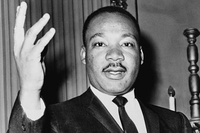 Martin Luther King, Jr in 1964.