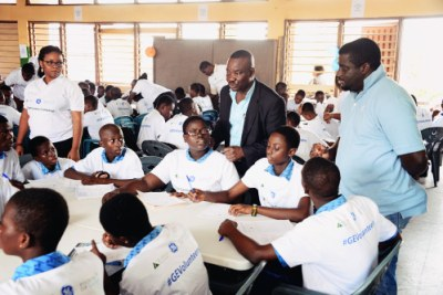 Ghana Students Talk STEM With GE