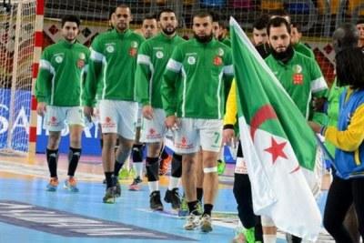 La sélection algérienne de handball