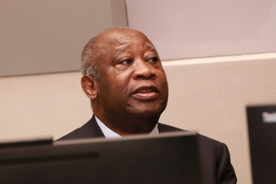 Former Ivorian president Laurent Gbagbo appeared in the International Criminal Court in The Hague on January 28.