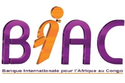 Logo BIAC ( Banque Internationale pour l'Afrique au Congo)