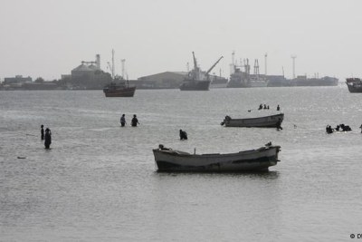 A modern port  in the capital Berbera