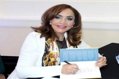 La romancière et poétesse algérienne, Ahlam Mosteghanemi