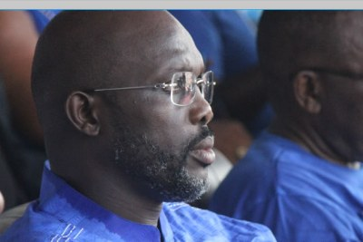 President-elect George Weah