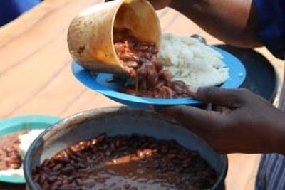 Food shortage in Zimbabwe.