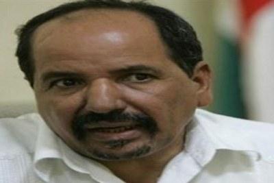 Mohamed Abdelaziz, secrétaire général du Polisario et membre fondateur de la République arabe sahraouie démocratique autoproclamée (RASD)