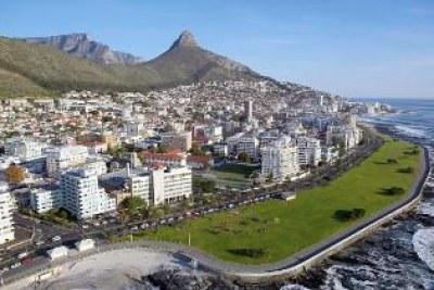 Ville de Capetown en Afrique du Sud