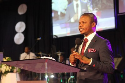 Prophet Shepherd Bushiri (file photo).