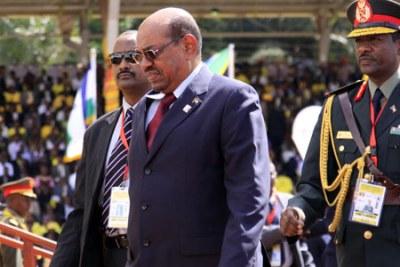 Former president Omar al Bashir