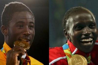 Des médaillés africains aux JO de Rio 2016