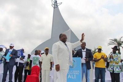 President Ali Bongo Ondimba,