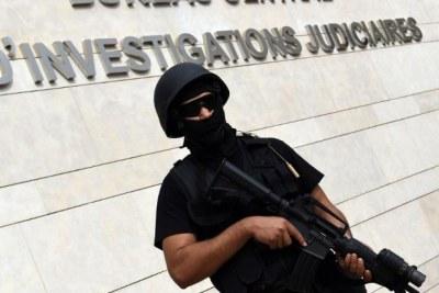 Un membre de l'unité d'élite du BCIJ, spécialisée dans des enquêtes antiterroristes.