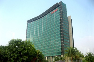 Huawei Technology  headquarters in Shenzhen, China.