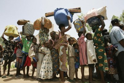 Burundian refugees.