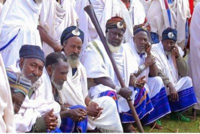 The Gada system is largely practised by the Oromo people.