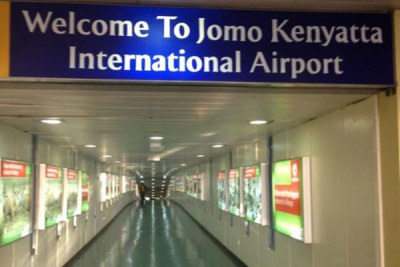 Jomo Kenyatta International Airport.