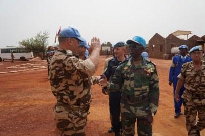 Peacekeepers in Bria