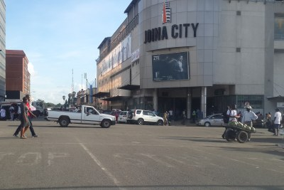 Harare CBD (file photo).