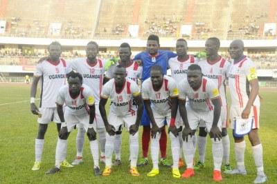 Uganda's Cranes' squad.