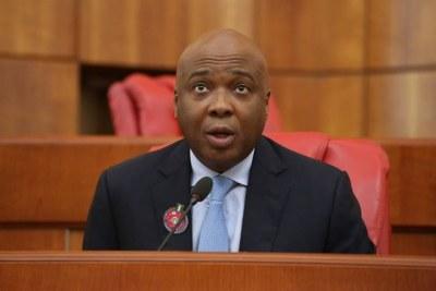Senate President Bukola Saraki.