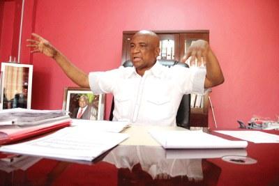 Cosafa president Phillip Chiyangwa.