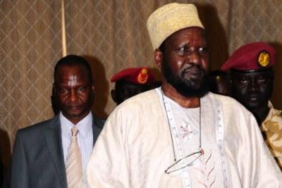 South Sudan President Salva Kiir at a function recently.