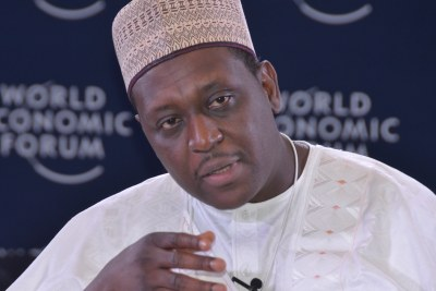 Dr. Muhammad Ali Pate, former Nigerian Minister of State for Health, speaking at the 2014 World Economic Forum Africa in Abuja.