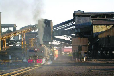 Hwange Colliery.