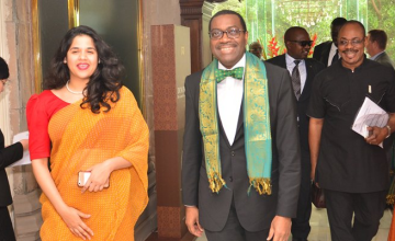 Fin de la visite officielle du président de la BAD en Inde