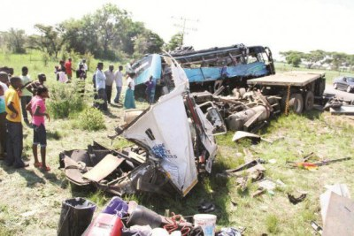 Some of the accidents between Harare-Beitbridge highway.