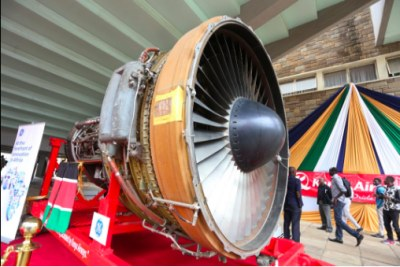 A CF6-80A2 engine manufactured by General Electric (GE) was donated by Kenya Airways, GE and Boeing to the Aerospace and Aviation Engineering programme at Technical University of Kenya (TUK) on April 10 2017.