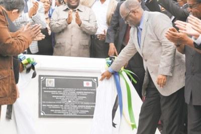 President John Magufuli.