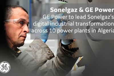GE has signed a services contract with Sonelgaz in Algeria - the largest services contract in GE Power's history. It will strengthen the power sector and lead a digital industrial transformation in Algeria. GE Power will provide operations & maintenance services for 10 power plants (11 GW in Algeria)