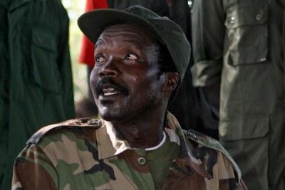 LRA rebel leader Joseph Kony.
