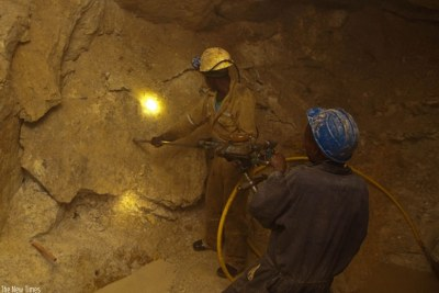 Miners (file photo).