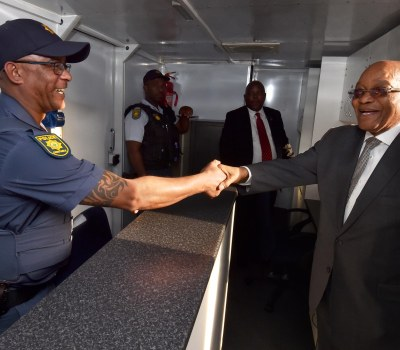 South African Presidential Visit to Elsies River Community