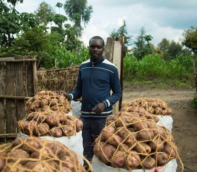 Irish Potato Growing Turns Rwandan Into a Multimillionaire