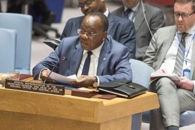Le Représentant spécial du Secrétaire général pour l'Afrique centrale, François Lounceny Fall